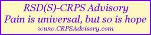 RSD(S)-CRPS Advisory Banner