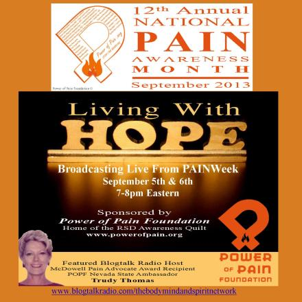 Living w Hope painweek 2013