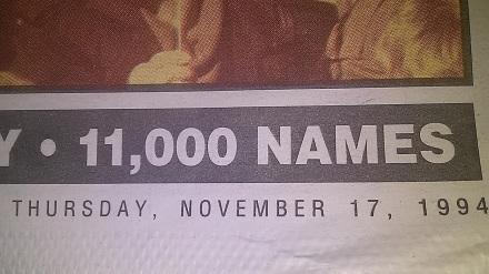 SacramentoNews&Review November 17 1994 Speaking Out Edition Date Twinkle VanFleet