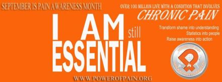 POPF September is Pain Awareness Month