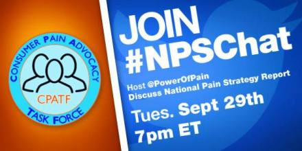 #NPSChat Hosted by the Power of Pain Foundation