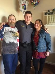 Father, Son, Mama Xmas 2015