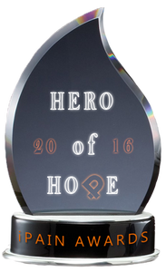 iPain Here of Hope Award