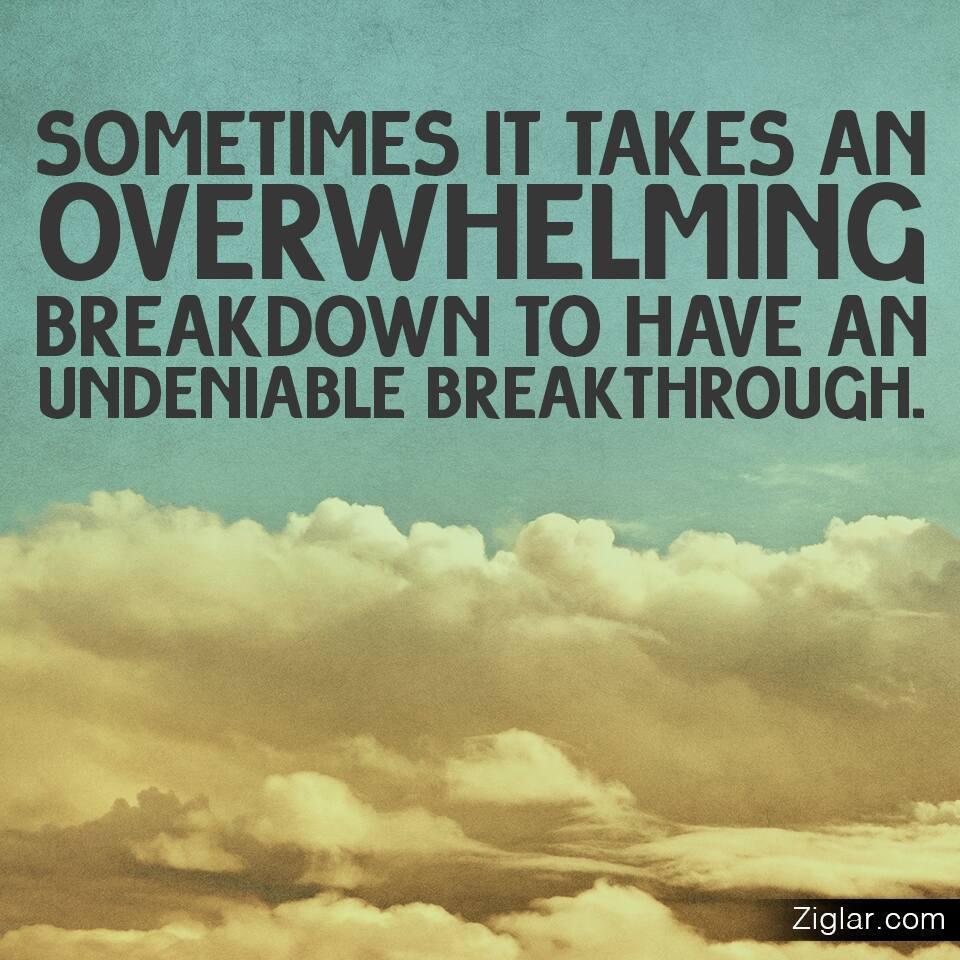 Overwhelming - Breakthrough